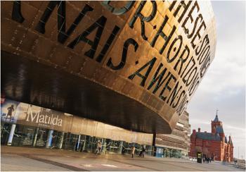 Millennium centre & pierhead building.