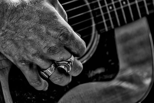 Guitarplayer by Johan Vandenberghe