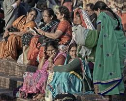 Women at Hardiwar Ghat