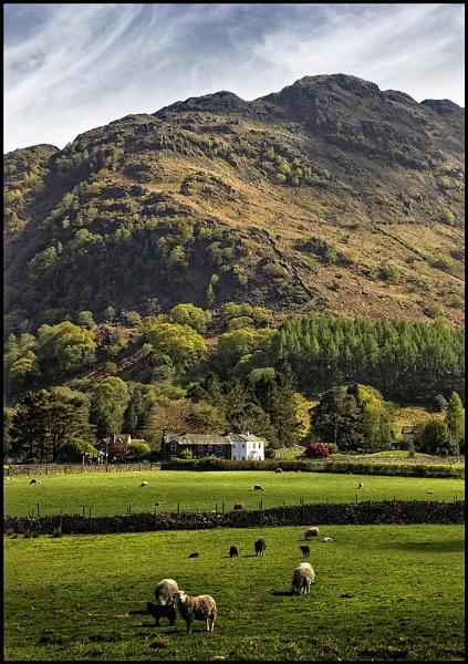 Stonethwaite valley by Niknut