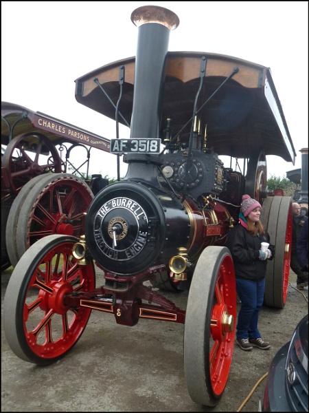 Burrell Steam Engines by JuBarney