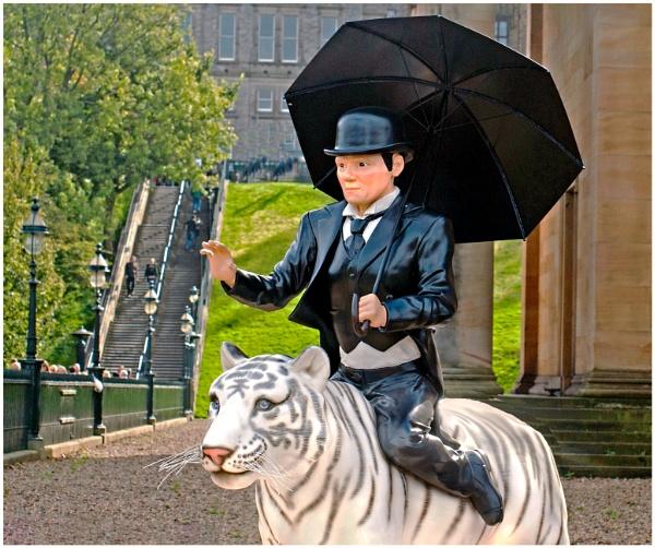 Tiger Rider by mac