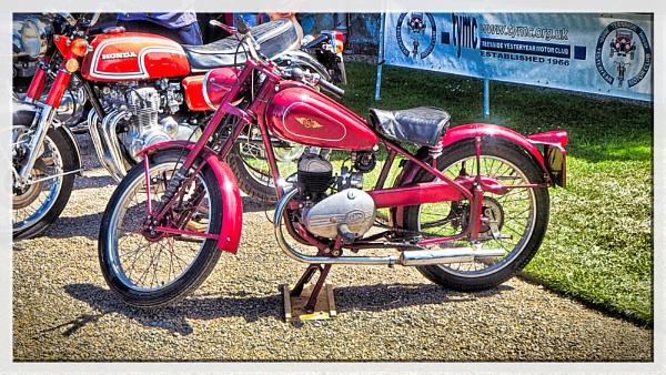 JAMES CLASSIC MOTORBIKE. by kojack