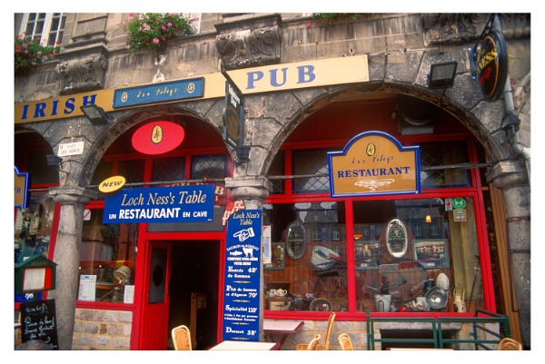 Irish Pub in France by dark_lord