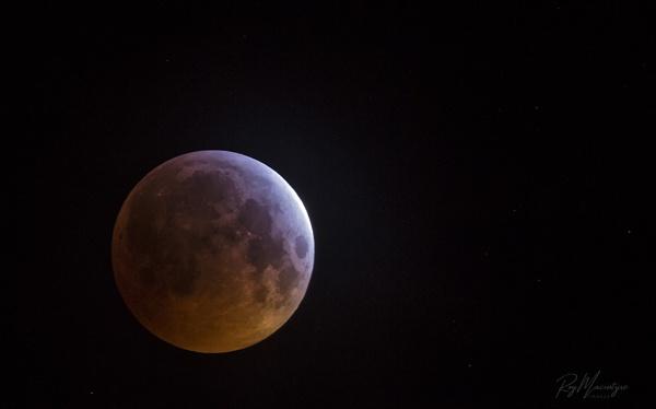 Blood Super Moon. by Roymac