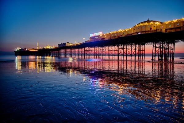 Palace pier by alfpics