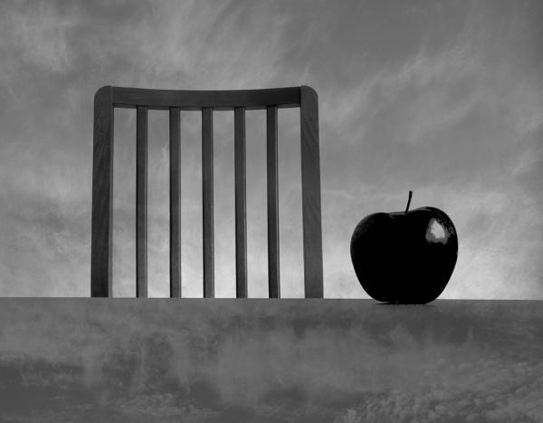 Black apple by Danas