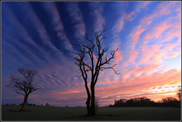 Sunrise at Farley Chamberlayne. by ianblanchett