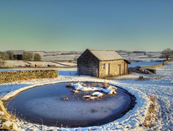 Winter Sun At Wardlow by ianmoorcroft