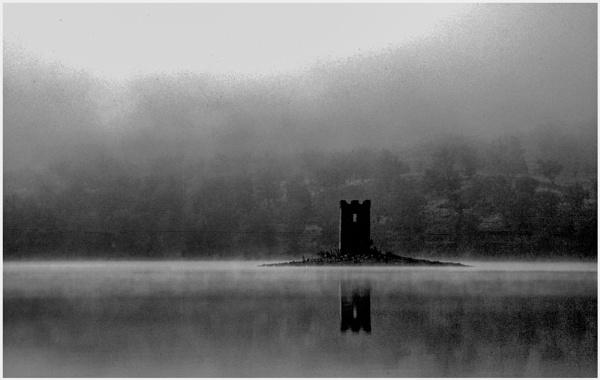 Loch Rannoch Crannog by mac