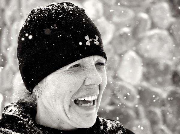 Enjoying the snow by djh698