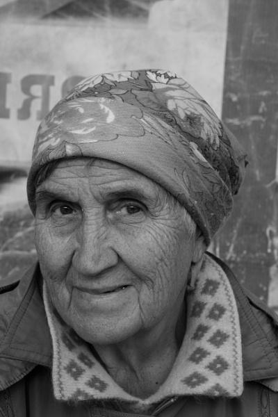 Siberian woman by egroegk