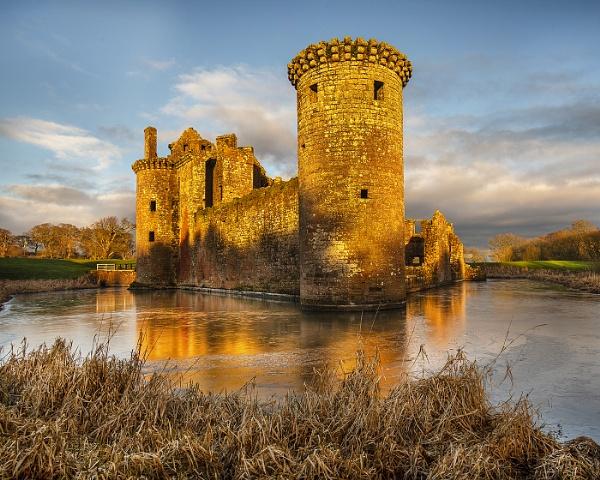 Caerlaverock Castle by AndrewAlbert