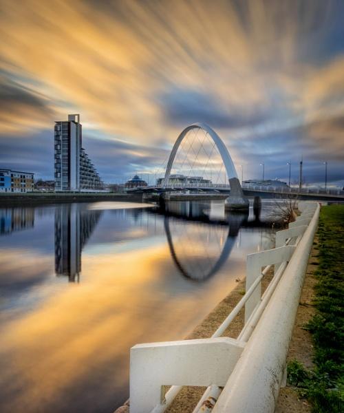 Glasgow Clyde Arc Bridge by Mark_Callander