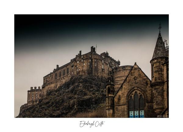 Edinburgh Castle II by NDODS