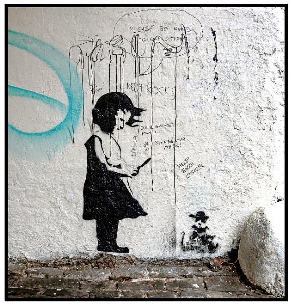 Banksy? by mac