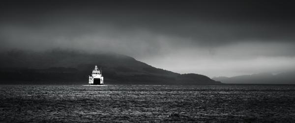 Lochranza Ferry by TrotterFechan