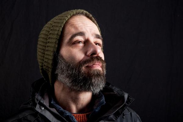 Man in a hat by JeffHubbardPhotography