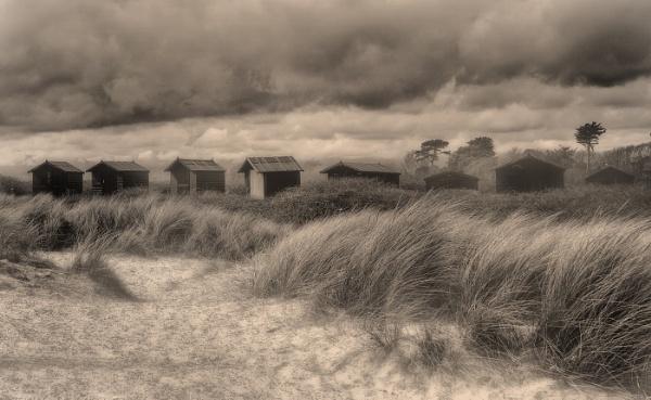 Beach huts by MAK2