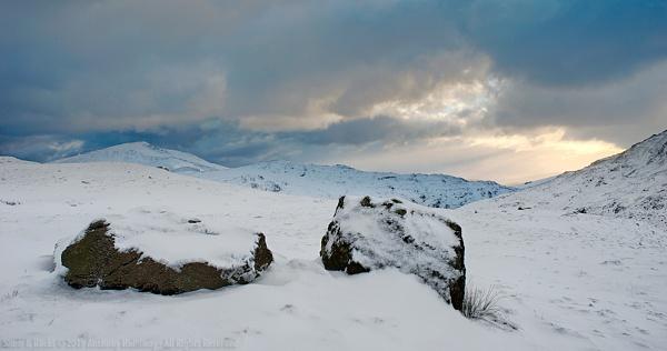 Snow & Rocks by AntHolloway