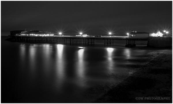 Morning Pier by Dwaller