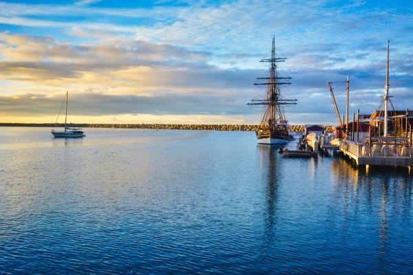 Dana Point Harbor, CA Morning Light by john_w168
