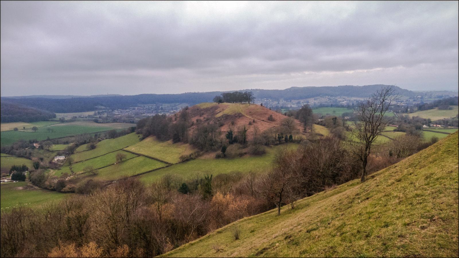 View of Smallpox Hill