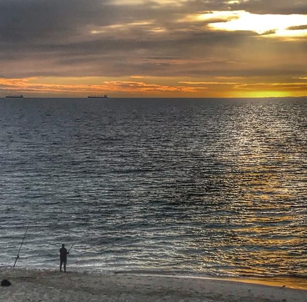Golden beach by johnjrp
