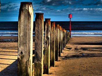 OLD SEA DEFENCE.