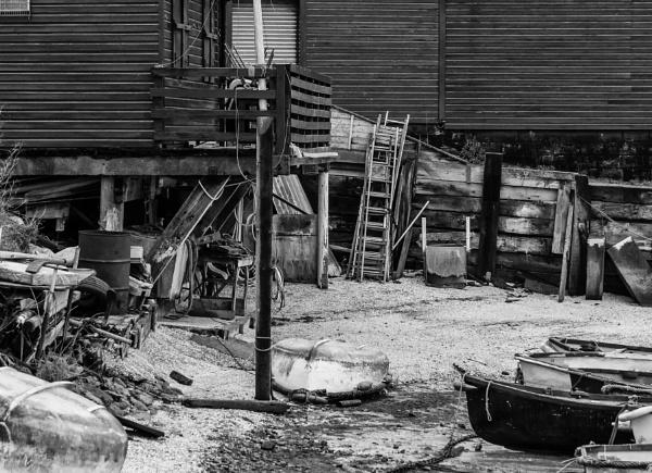 Boatyard Clutter by Alan1297