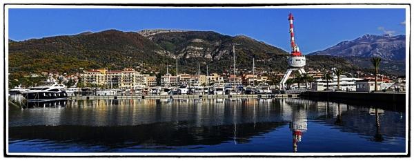 Porto  Montenegro  december  day by nklakor