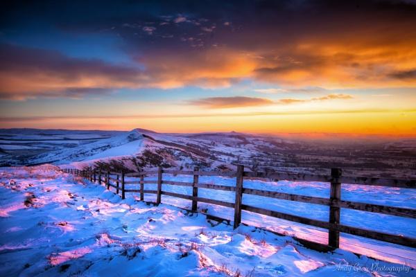 Winter Sunrise by Legend147