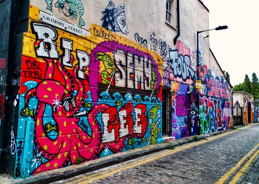 Graffiti on Grimbsy