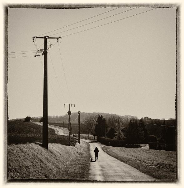 walking the dog......(apologies to Rufus Thomas) by bornstupix2