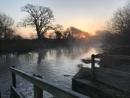 Sunrise over River Stour