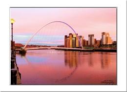 Sunrise over the Tyne