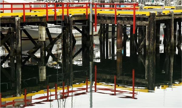 Pier, Comox by MalcolmM