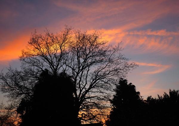 sussex sunset by derekd