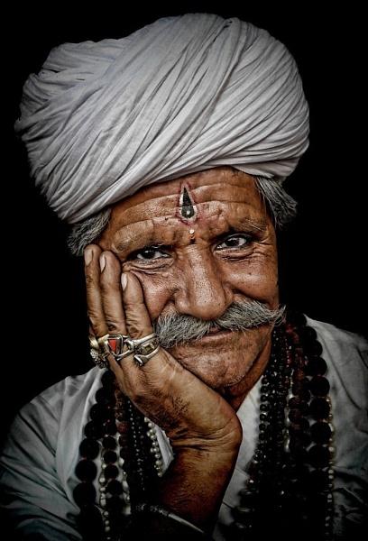 Rajasthani gentleman by sawsengee