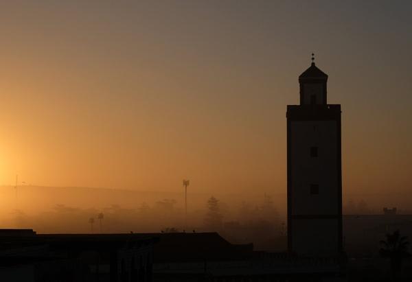 Grand Mosque, Essaouira. by Franticsmurf