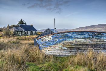 Old Boat in Ulva