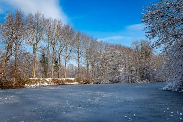 Winter in Brugge by Johan Vandenberghe