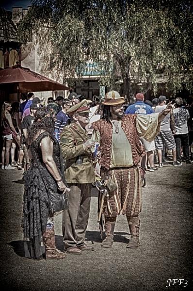 This Way To The Renaissance Fair by blackbird3