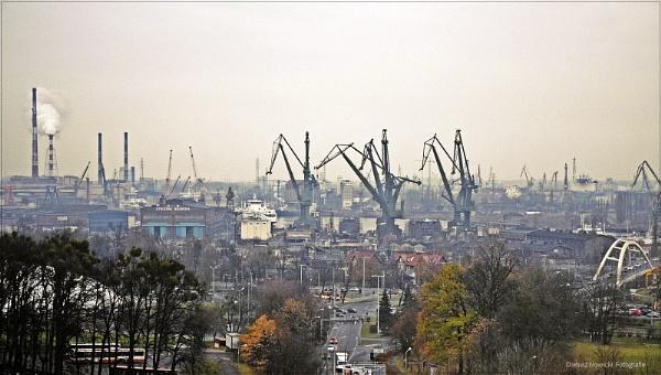 Gdansk... Panorama by papajedi