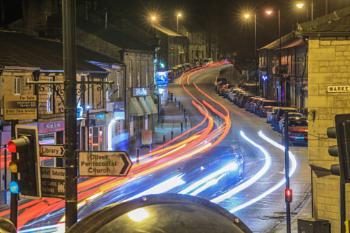 Bolton Street, Ramsbottom at Night