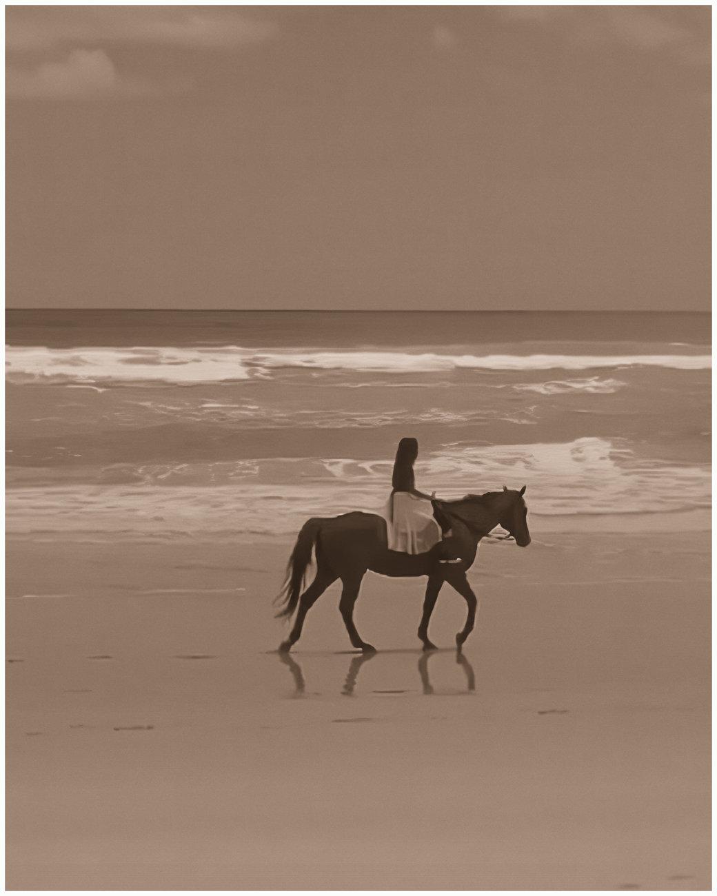 Horsewoman.