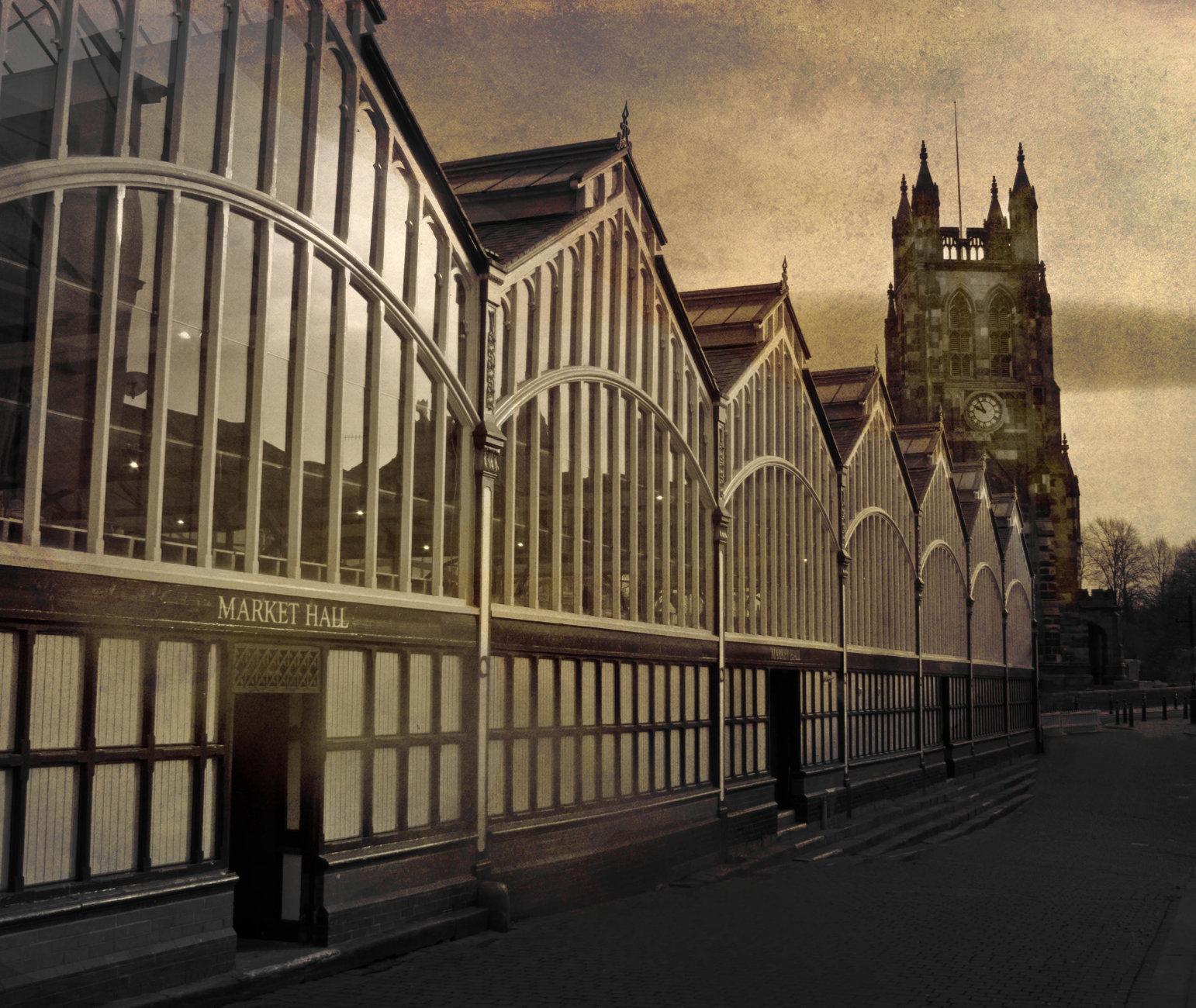 Stockport Market Place.