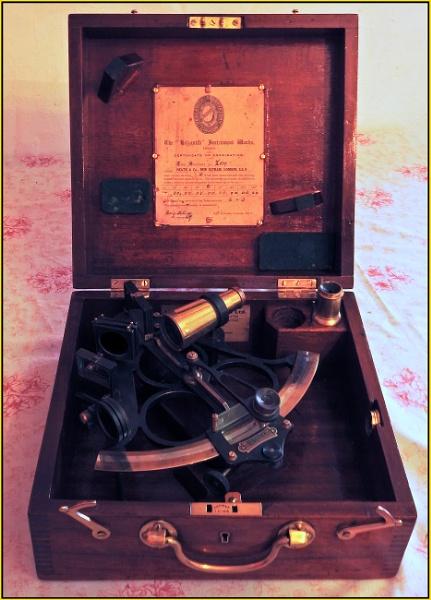 Reconditioned Hezzanith vernier sextant 1930 model, serial No Z819 by fotobee
