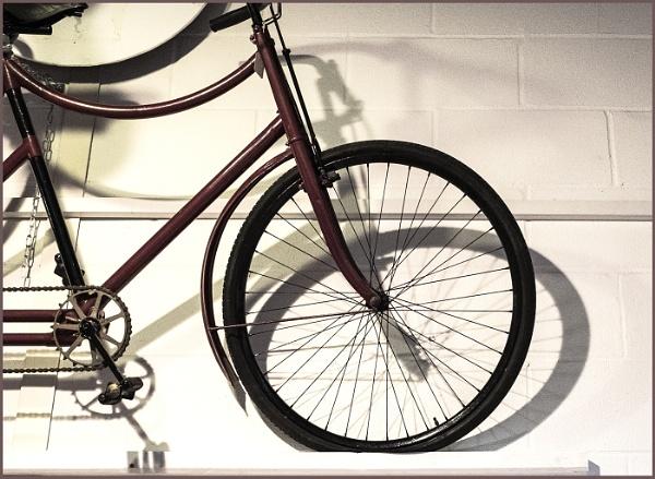 Old Bike and Shadow by AlfieK