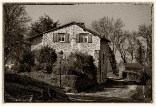 St Romain in Sepia by bornstupix2